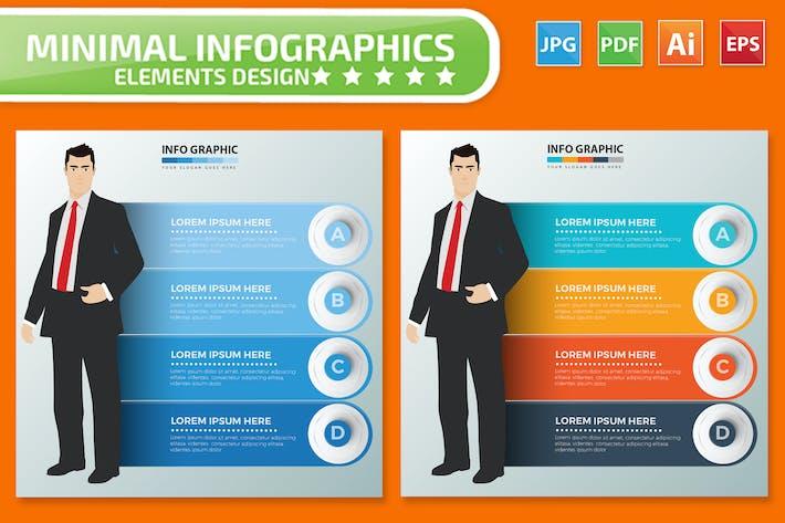 Thumbnail for Création d'Infographies d'homme d'affaires