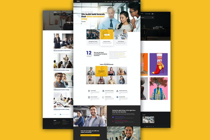 Thumbnail for Multiple Agency Business Template For Companies