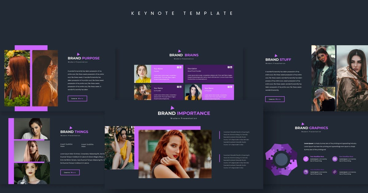 Download Modelione - Keynote Template by aqrstudio