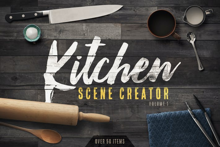 Thumbnail for Kitchen Scene Creator Volume 1