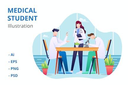 Medical Student Illustration