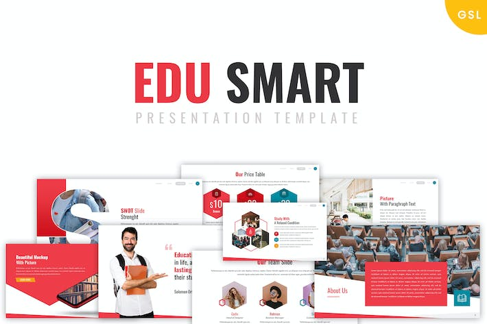 Thumbnail for Edu Smart  - Google Slides