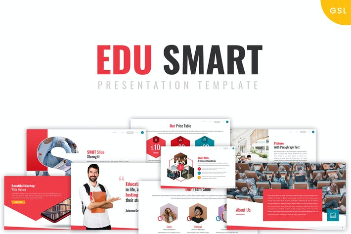 Cover Image For Edu Smart  - Google Slides
