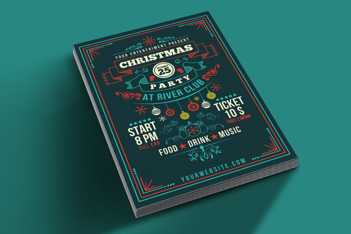 Thumbnail for Christmas Party Art Deco Style