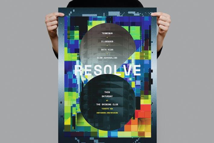 Thumbnail for Resolve Poster / Flyer