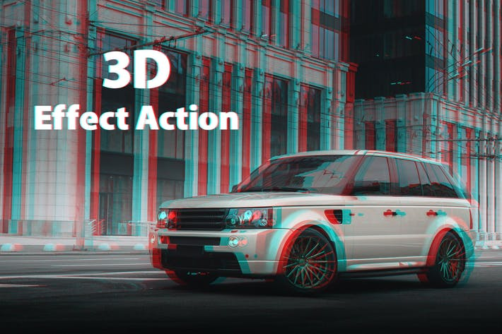 Thumbnail for 3D Effect Actions