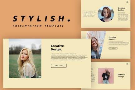 Stylish - PowerPoint Template