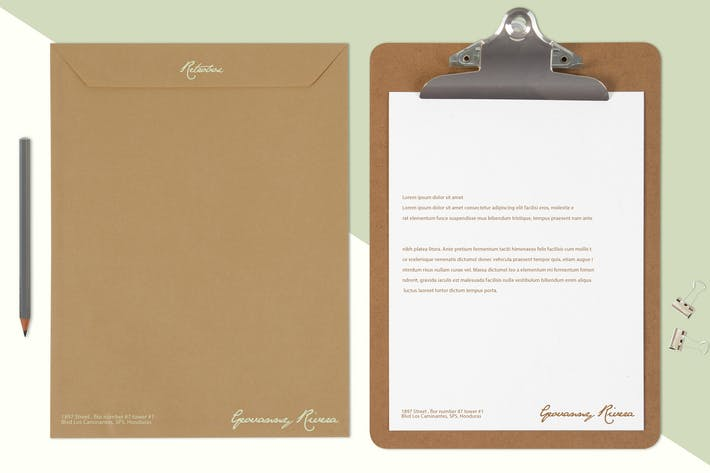 Thumbnail for Multi Purpose Letterhead Mock Up