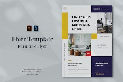 Vurnies - Furniture Flyer Template 11