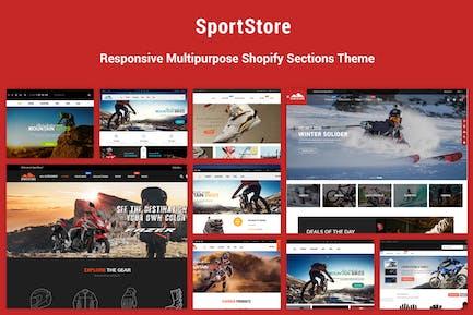 SportStore - Secciones Multifunción Shopify Tema