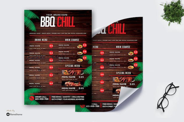Barbeque Menu vol.02 MR