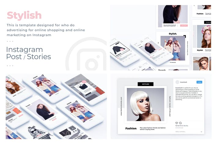 Thumbnail for Fashion & Stylish Instagram Template