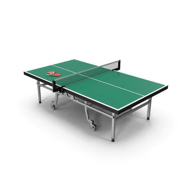 Mesa de ping pong con remo genérico