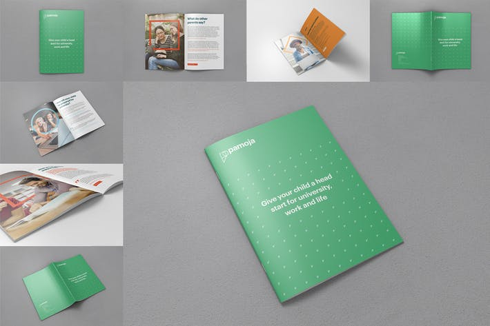 Thumbnail for A4 Brochure and Magazine Mockups