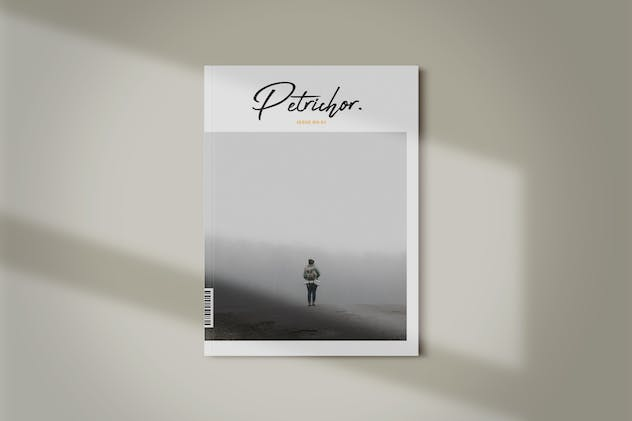 Magazine Template | Petrichor - product preview 0
