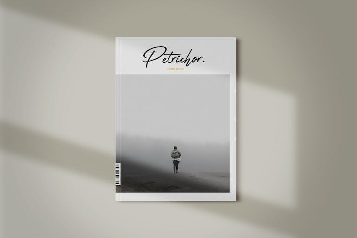 Thumbnail for Magazine Template | Petrichor