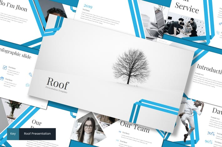 Thumbnail for Roof - Keynote Template