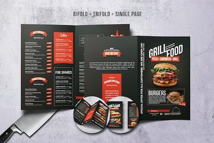Grill BBQ Menu Bundle