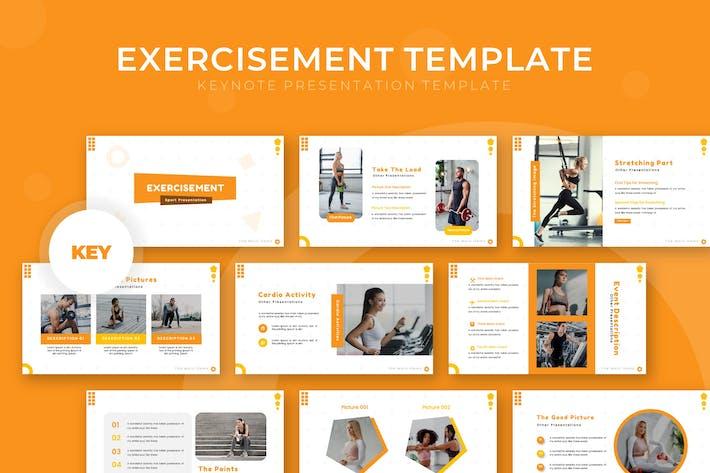 Exercisement - Keynote Template