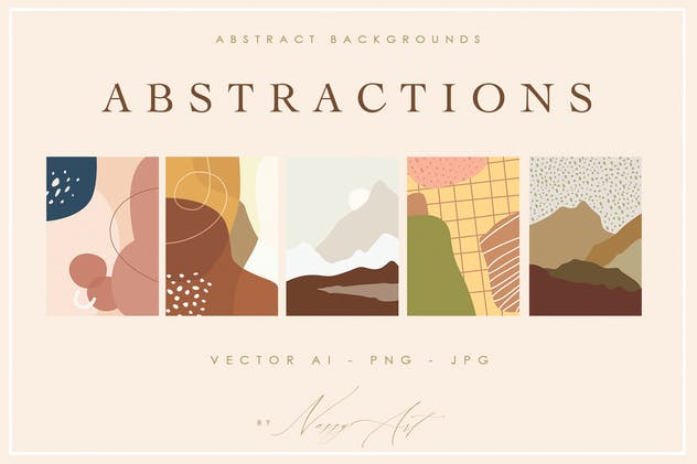 Abstract Shape Backgrounds