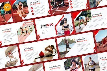 Sprinto - Sport Google Slides Template