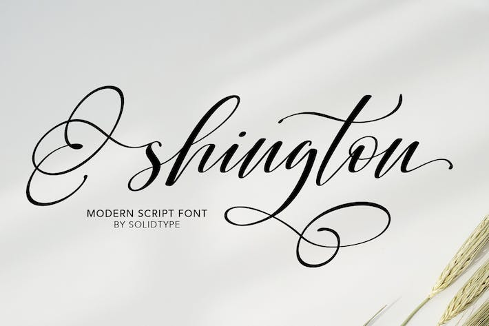 Thumbnail for Shington Script