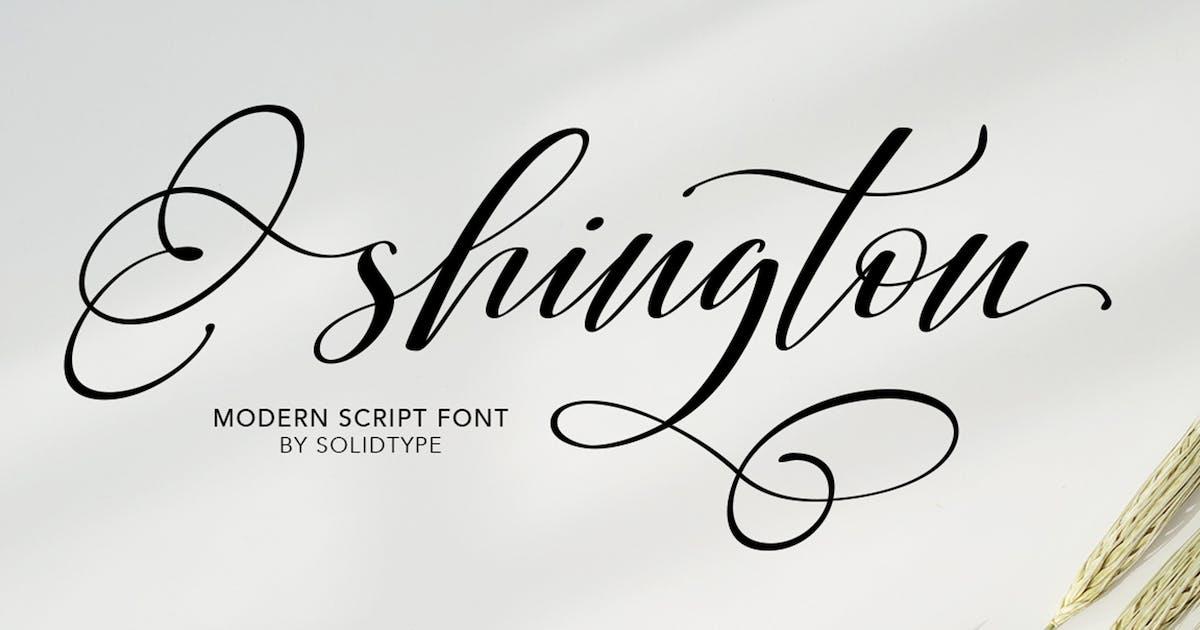 Download Shington Script by Solidtype