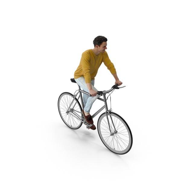 Man Riding Bike Vince