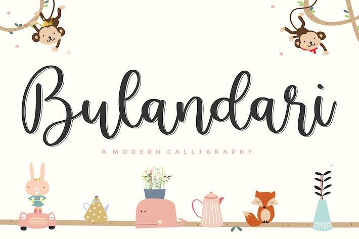 Thumbnail for Bulandari YH - Fuente de caligrafía moderna
