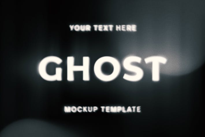 Ghost Text Effect