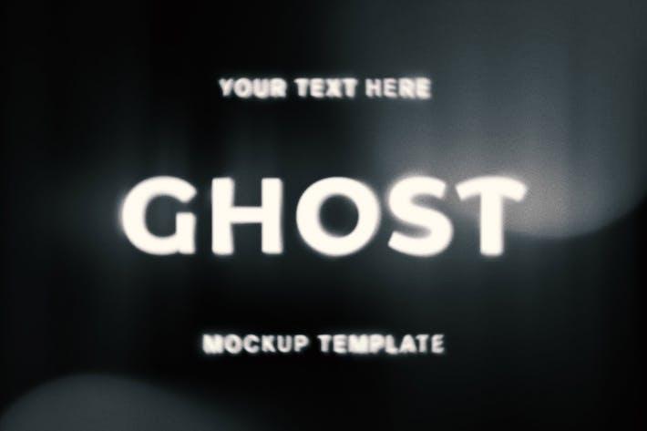Effekt Ghost Geistst-Text