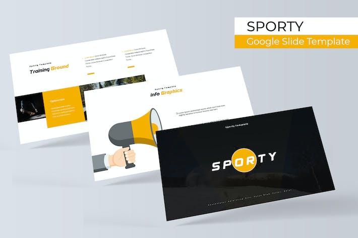 Thumbnail for Спортивный - Шаблон слайдов Google
