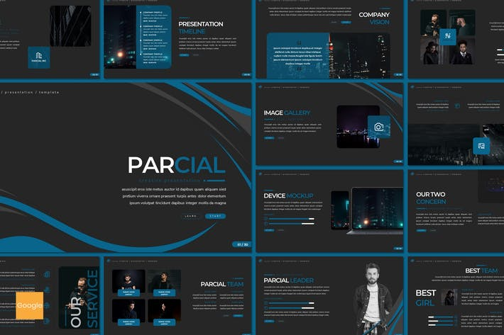 Thumbnail for Parcial - Google Slides Template