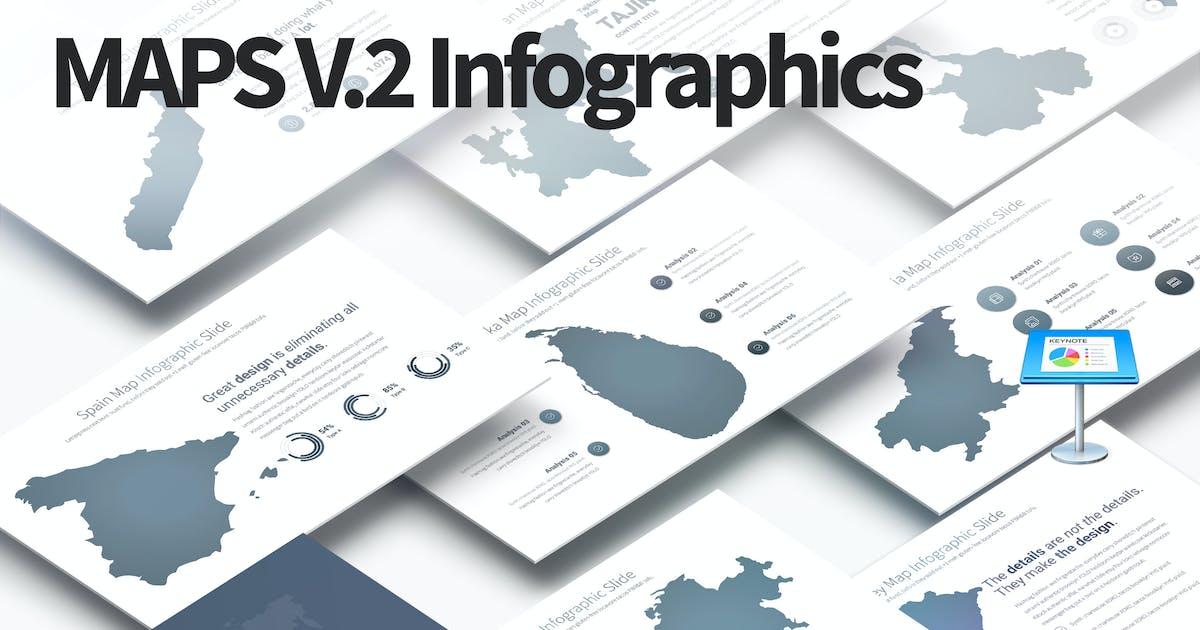 Download MAPS V.2 - Keynote Infographics Slides by pulsecolor