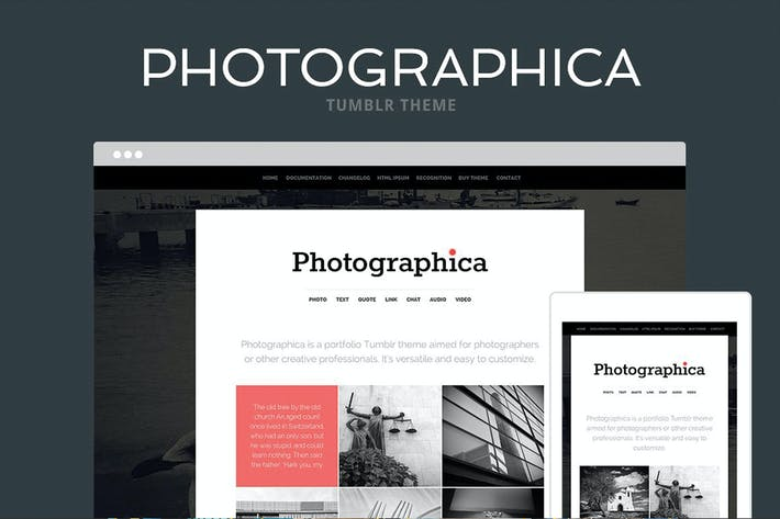 Thumbnail for Photographica Tumblr Tema