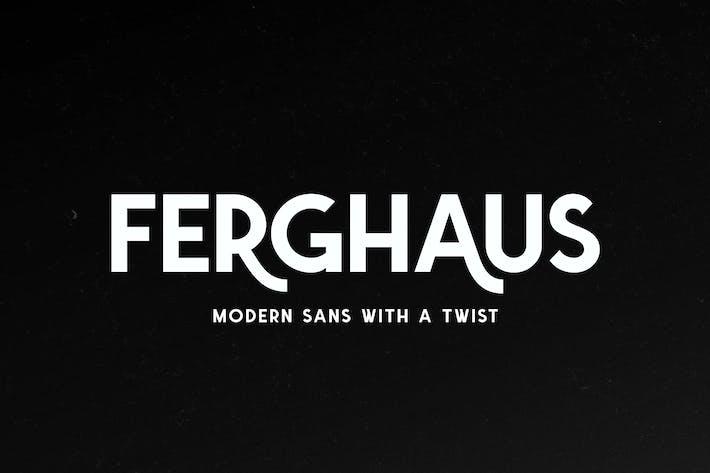 Thumbnail for Ferghaus Sans