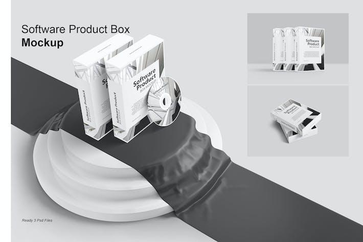 Thumbnail for Software-Produkt Box - Mockup Vol. 2