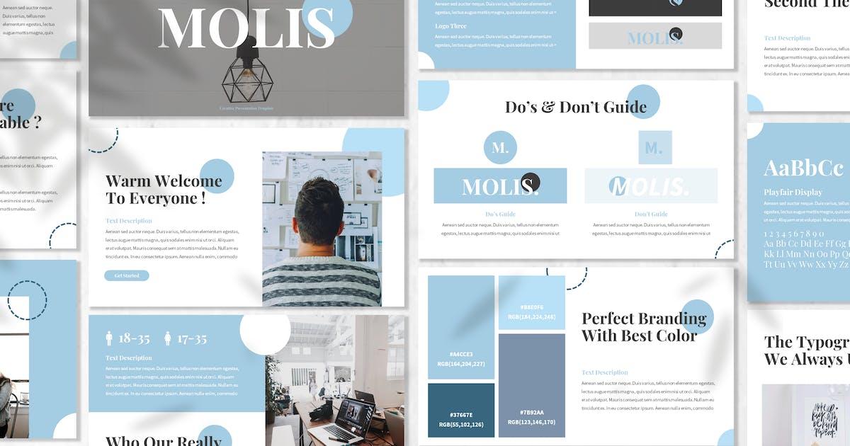 Download Molis - Brandbook Powerpoint Template by designesto