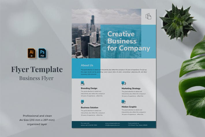 Thumbnail for Business Flyer Template 1.3