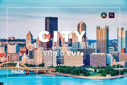 Бангсет Сити Pack 4 Видео LUTs