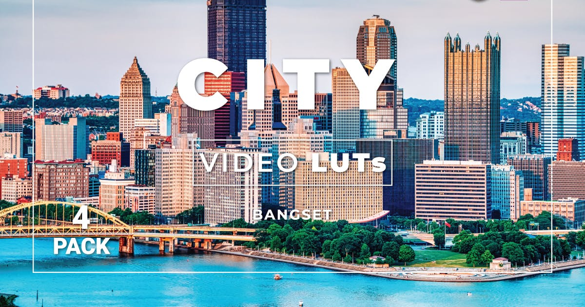 Download Bangset City Pack 4 Video LUTs by Bangset