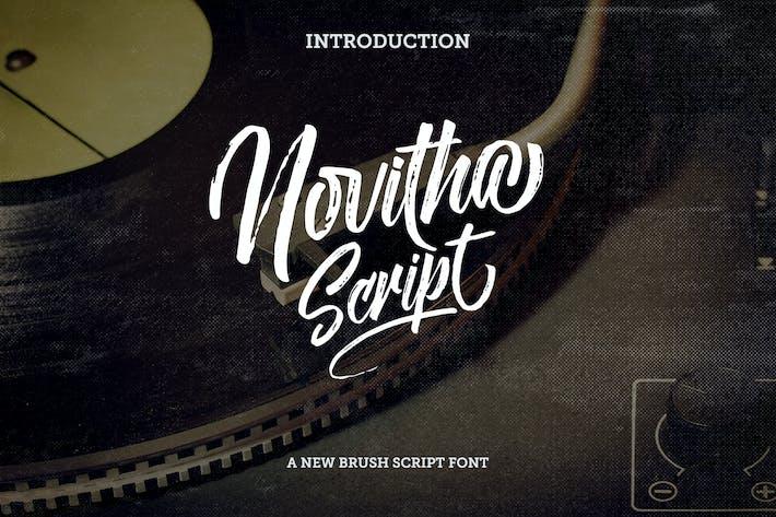 Thumbnail for Novitha Script