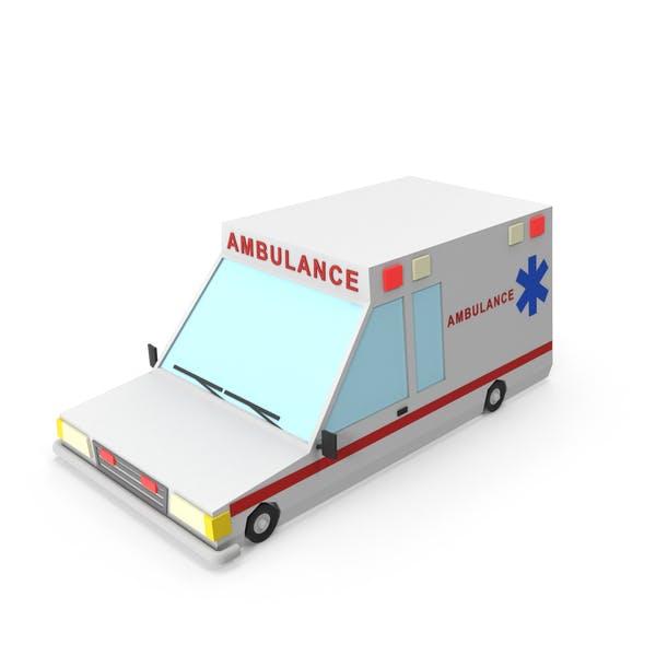Thumbnail for Cartoon Ambulance Vehicle