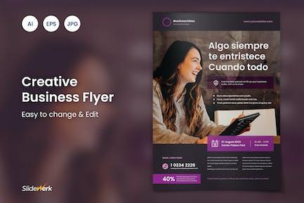 Creative Business Flyer 22 - Slidewerk