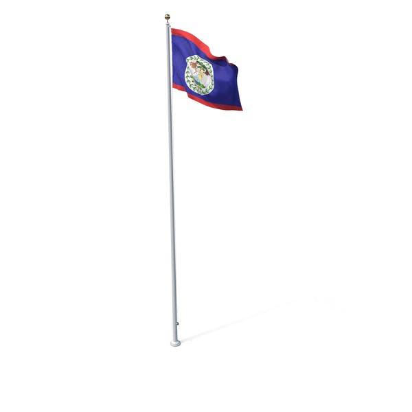 Thumbnail for Flag On Pole Belize
