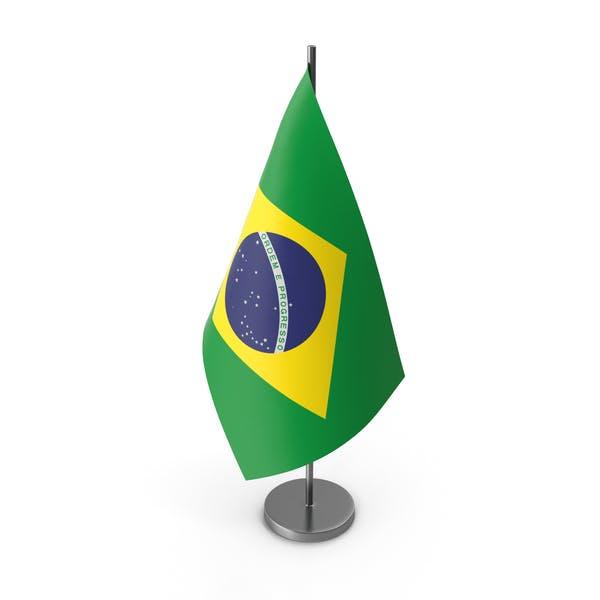 Table Flag Brazil