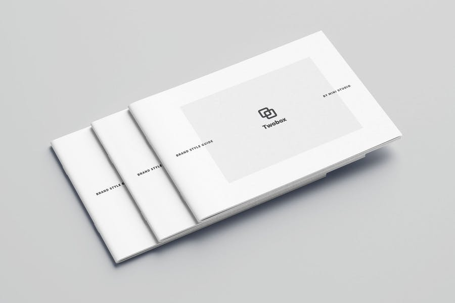 A4/Letter Minimal Brand Style Guide