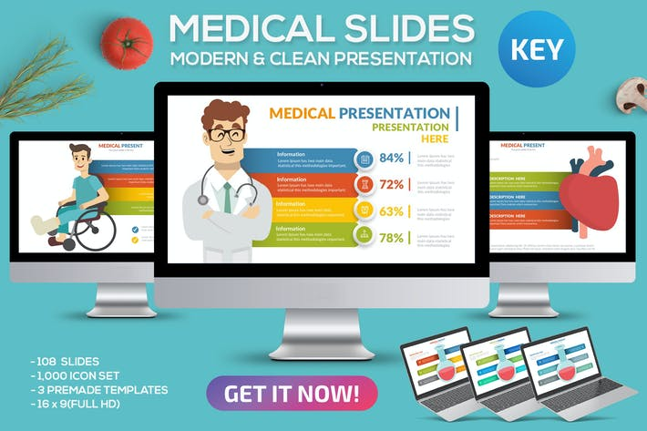 Thumbnail for Medical Keynote Template