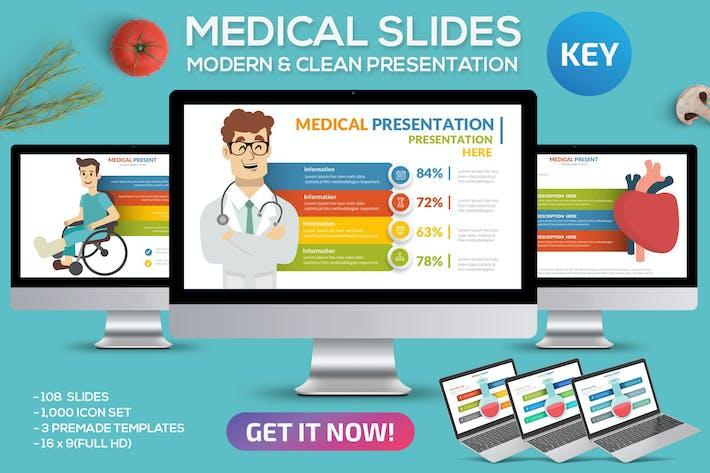 Thumbnail for Plantilla de Keynote Medicina