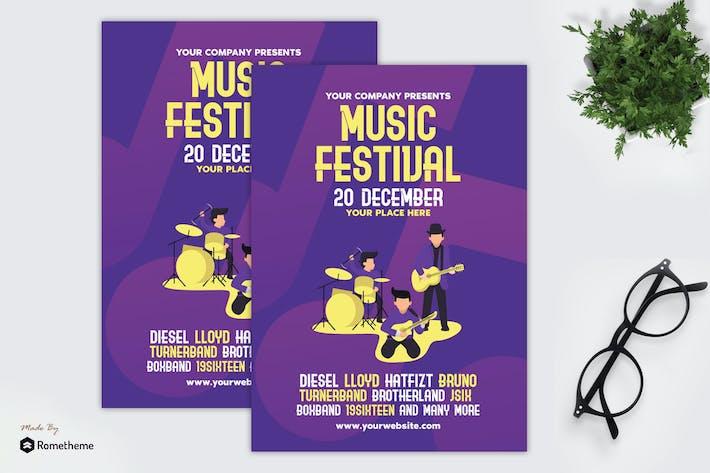 Thumbnail for Festival de musique - dépliant GR